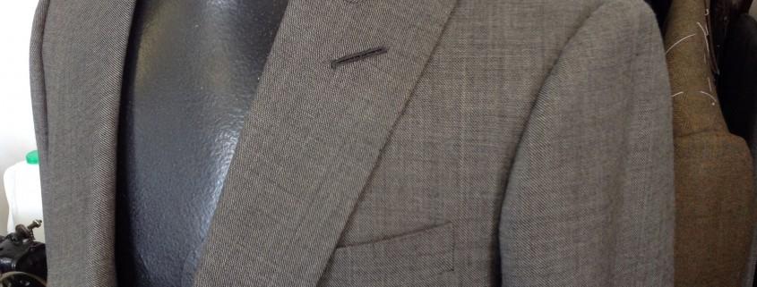 Classic grey suit