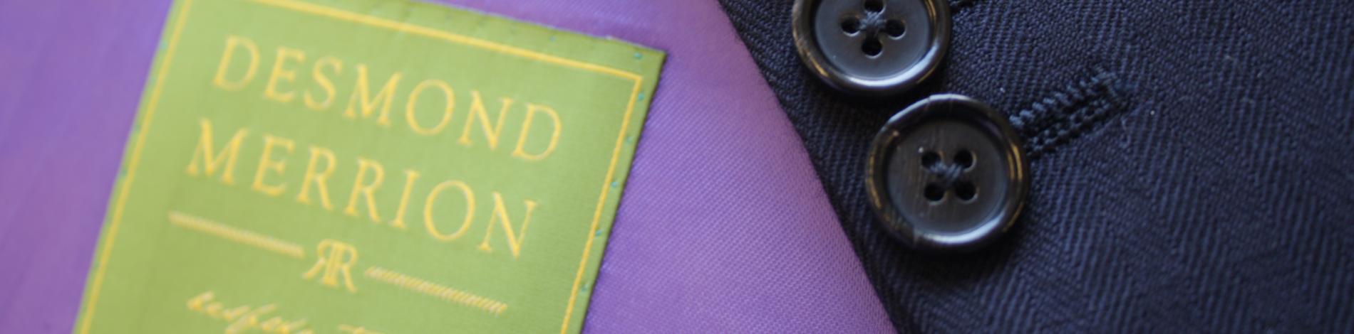 desmond merrion bespoke tailor