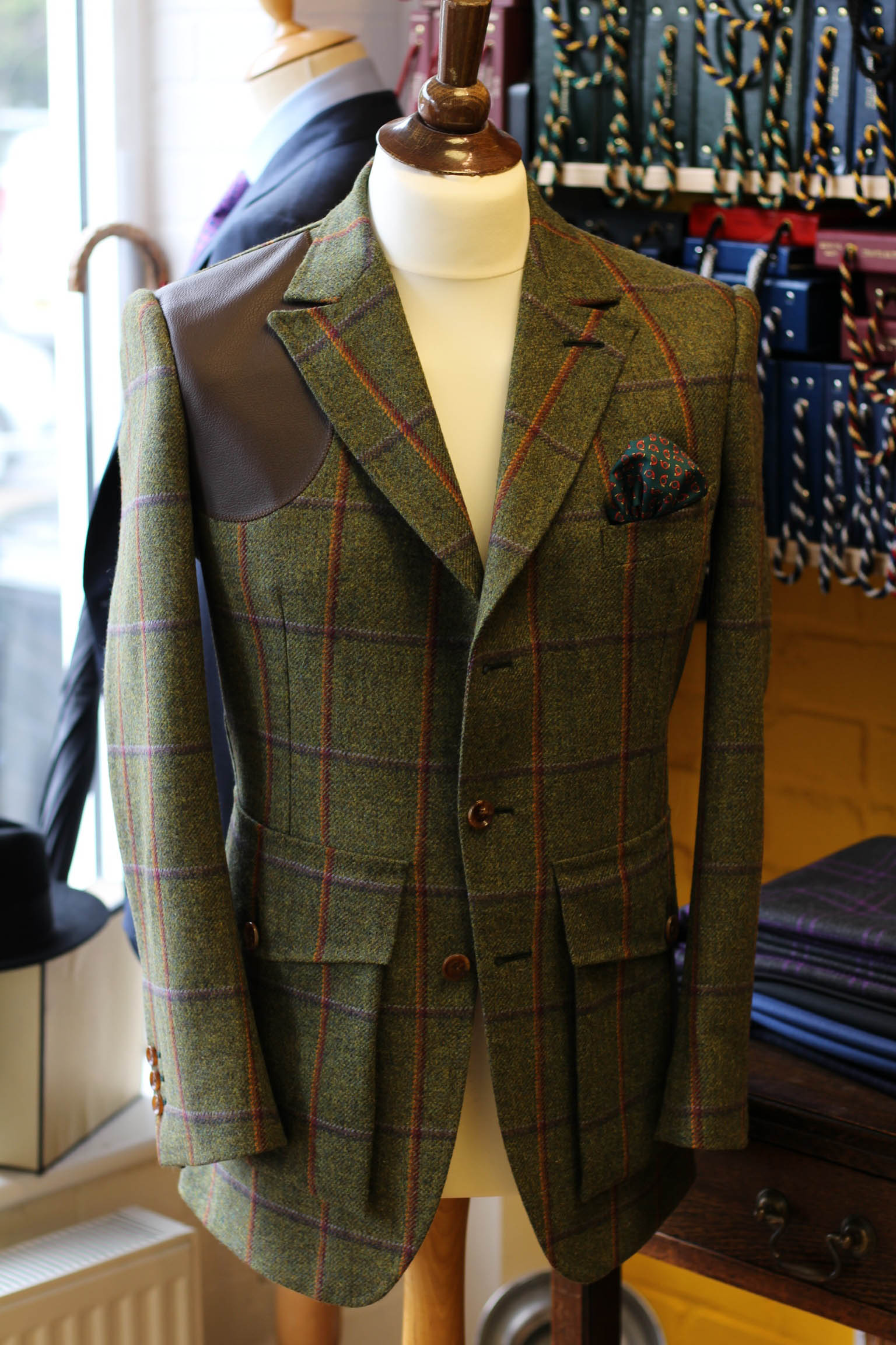 Bespoke shooting suits