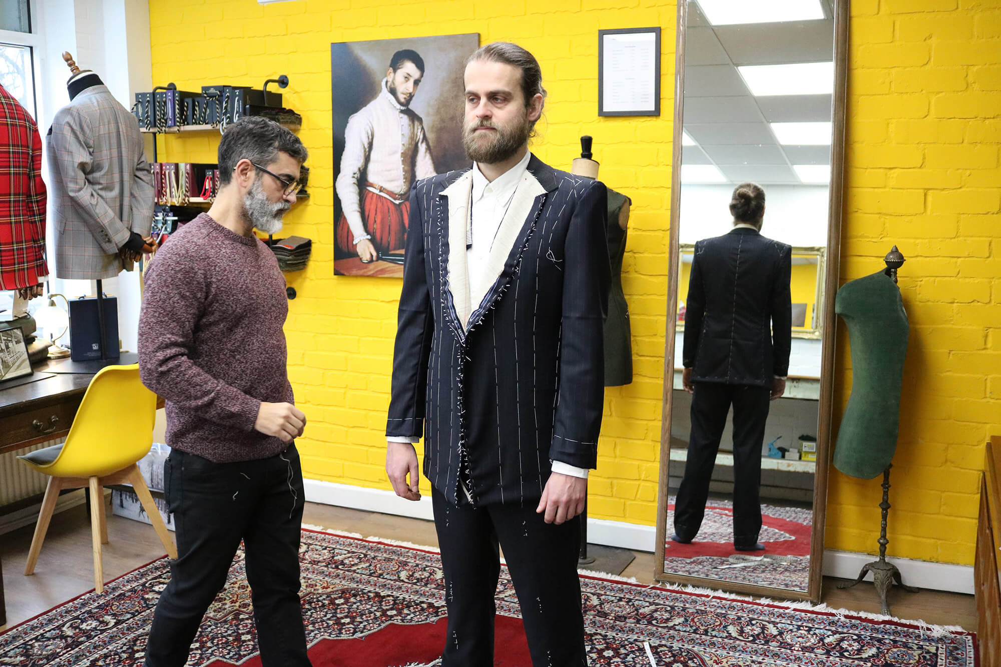 Bespoke tailoring courses